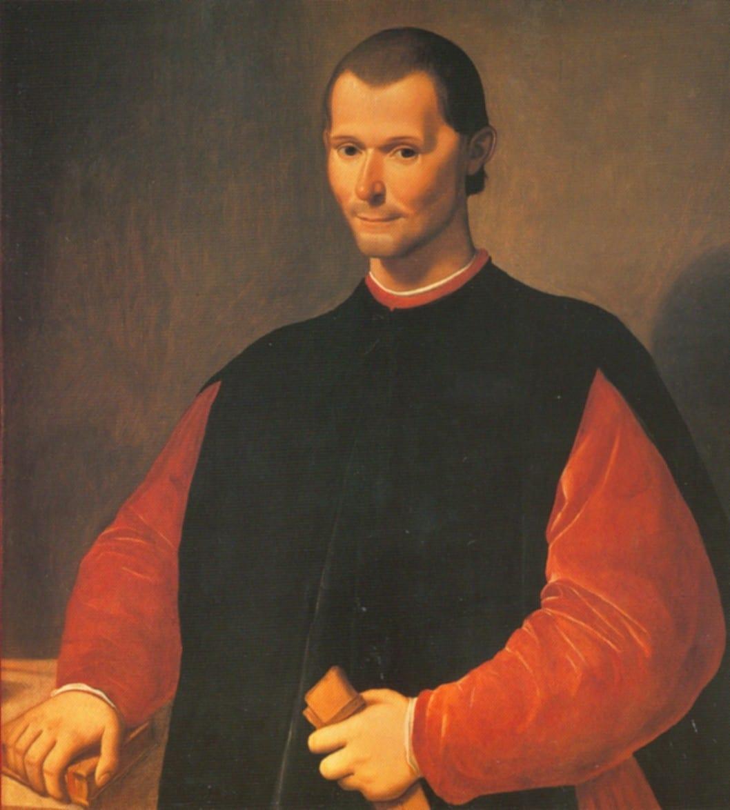 el Principede Maquiavelo resumen