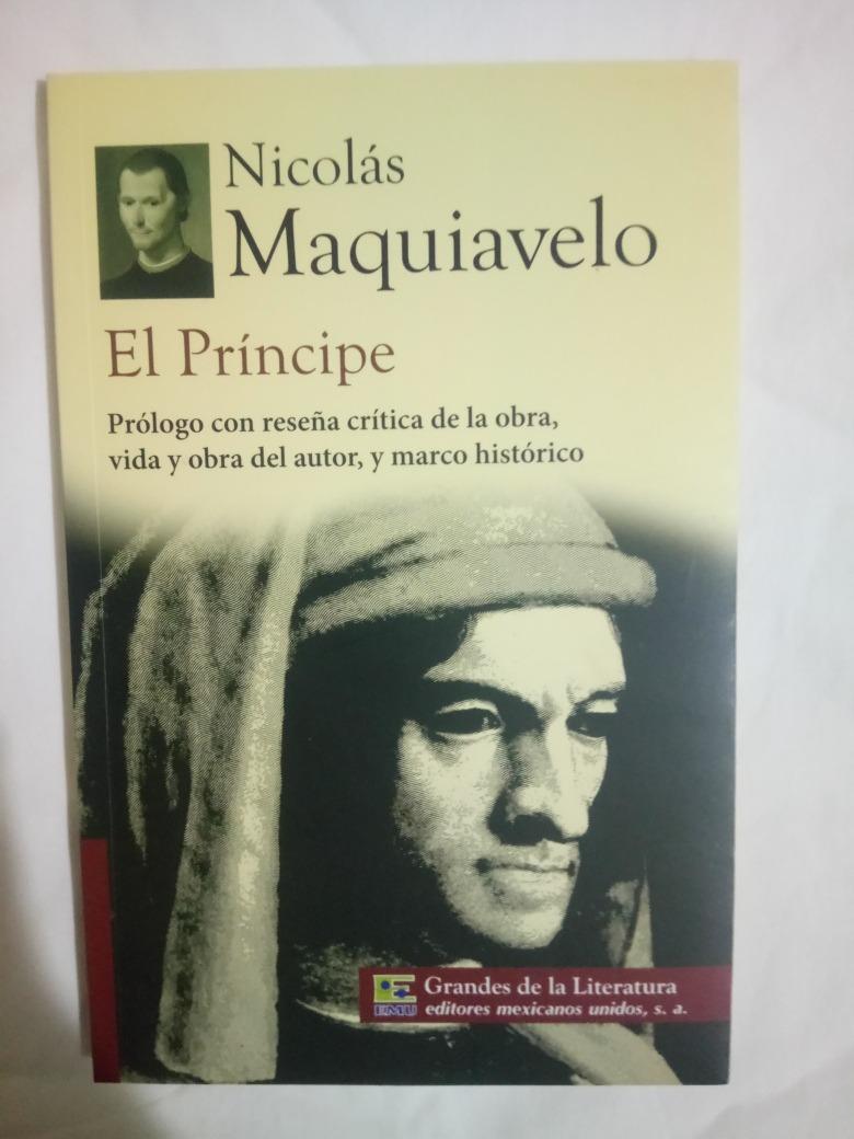 el Príncipe de Maquiavelo resumen