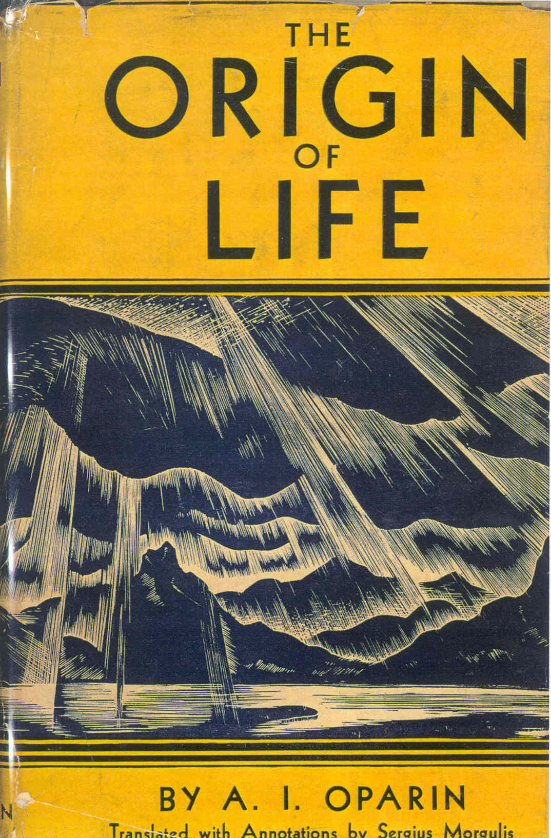 origen de la vida oparin resumen