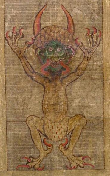 El retrato de Satanás