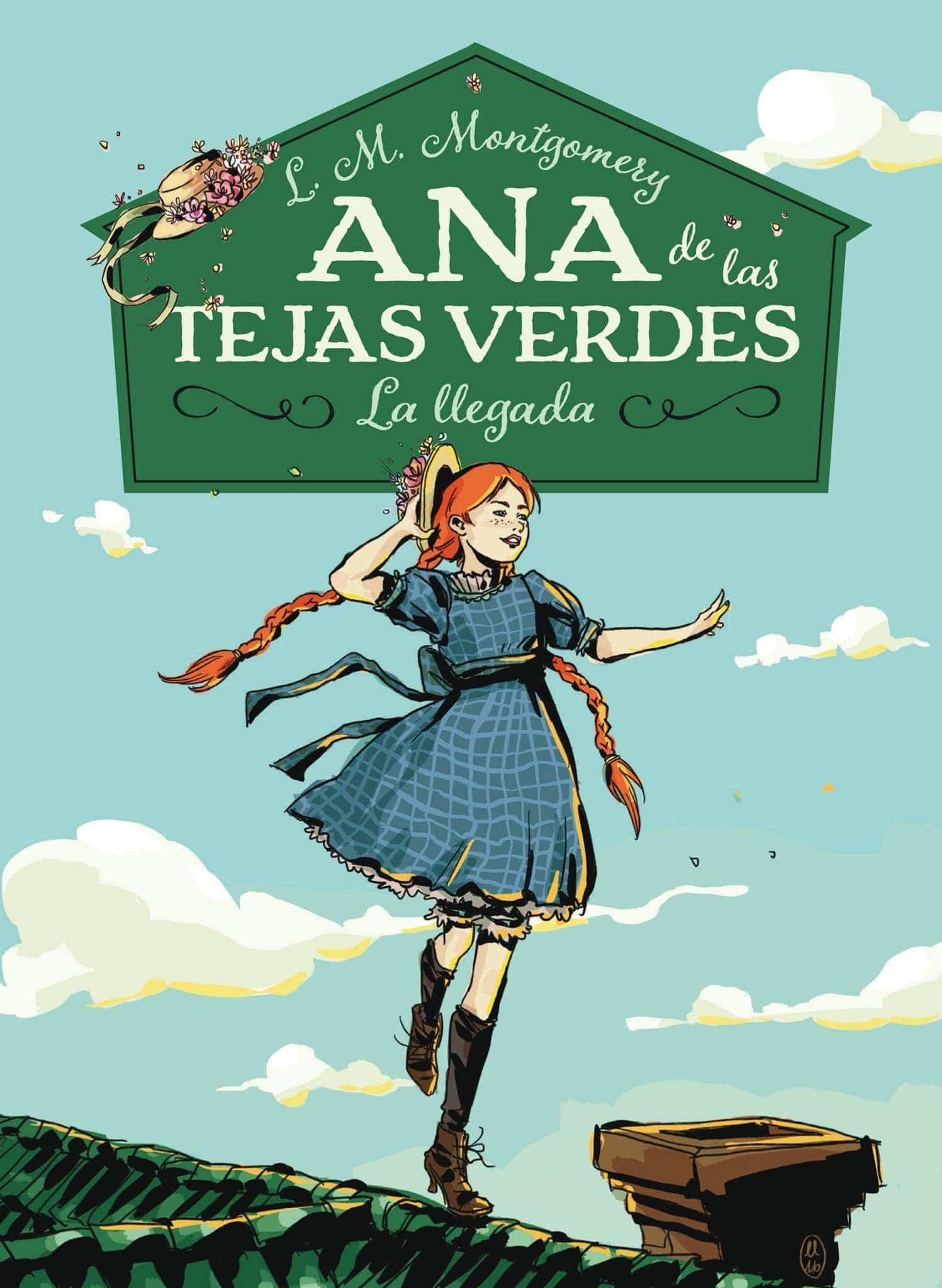 Libro De Lucy Maud Montgomery Ana De Las Tejas Verdes